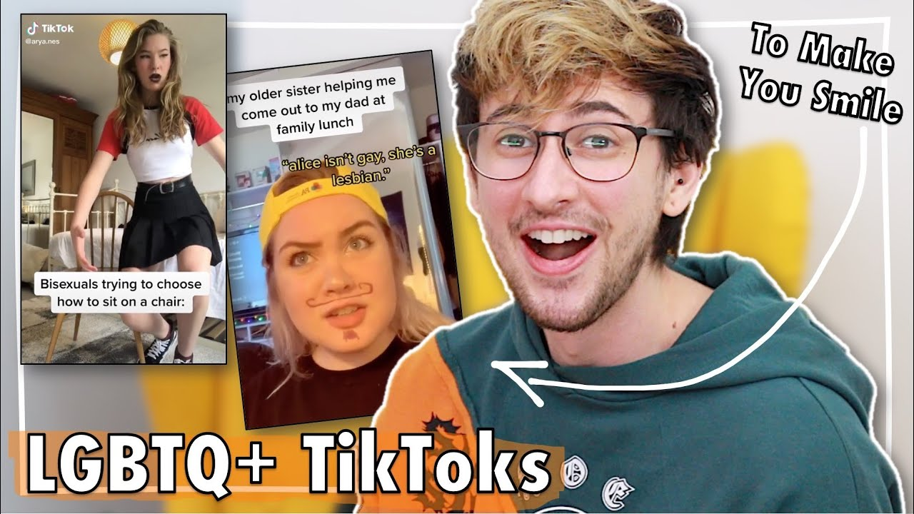 Reacting to Wholesome LGBT+ Tik Toks