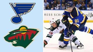 St. Louis Blues vs. Minnesota Wild | EXTENDED HIGHLIGHTS | 2/17/19 | NHL on NBC