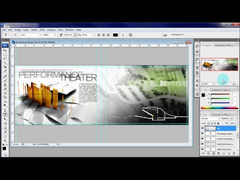 ARCHITECTURE PORTFOLIO TUTORIAL: ADDING TEXT