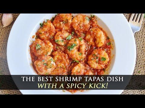 Seared Shrimp with Spicy Tomato Sauce Recipe
