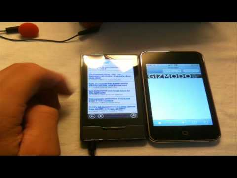 Zune HD and iPod Touch 2nd Gen Comparison