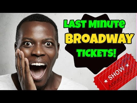 Broadway Tickets - How to score last minute theater tickets Rochester Newyork NY