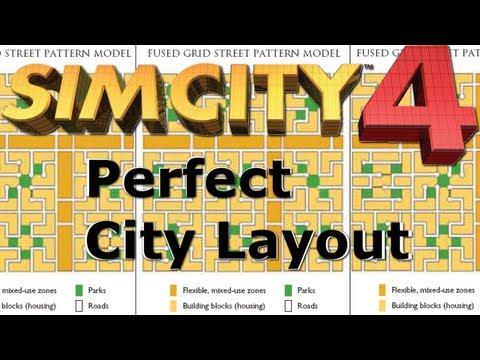 Perfect City Layout (Simcity 4)