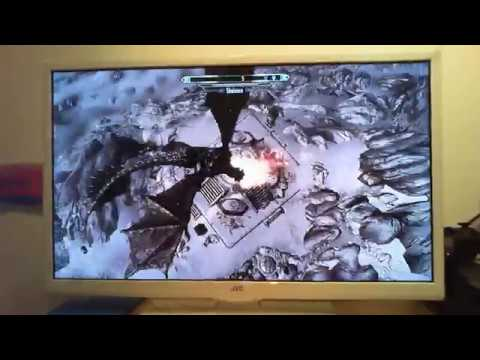 How to ride a dragon in skyrim xbox 360!!!!!! {dragon comes in to early}!!!