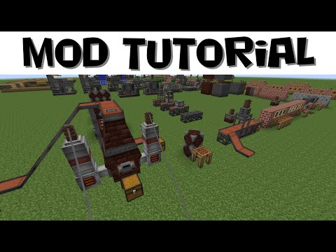 IE Tutorial #7 - Improved Blast Furnace,  Metal Press and External Heater (MC 1.7.10)