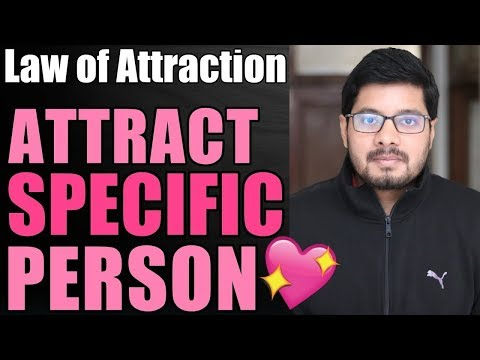 MANIFESTATION #60: Attract SPECIFIC PERSON with Law of Attraction 💖 | Love & Soulmate | Suyash