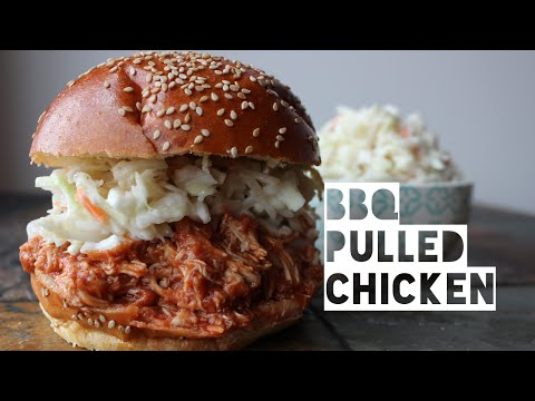 Healthy Crockpot Chicken Recipe BBQ | How To Make Low Calorie & Low Carb Crockpot Chicken
