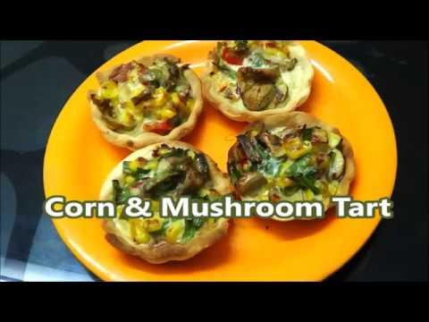 Corn And Mushroom Tart