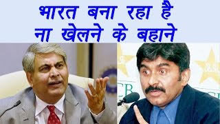 Javed Miandad says India least interested to play with Pakistan | वनइंडिया हिन्दी
