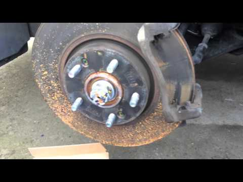 2012 Hyundai Sonata Front Brake Pad Replacement