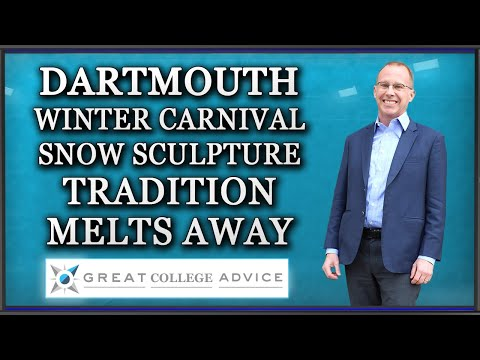Dartmouth Winter Carnival Snow Sculpture Tradition Melts Away | Great College Advice
