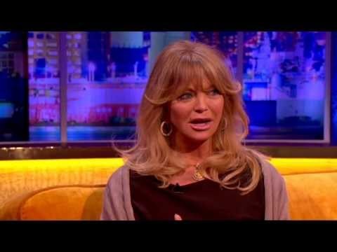 Goldie Hawn On Kate Hudson S Birth Story The Jonathan Ross Show