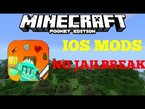 iOS MODS WITH NO JAILBREAK! - NoVanilla Beta - Minecraft PE (Pocket Edition)