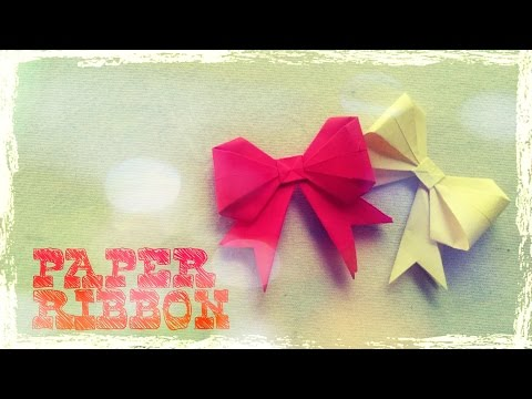 Origami Easy - Origami Bow Instructions