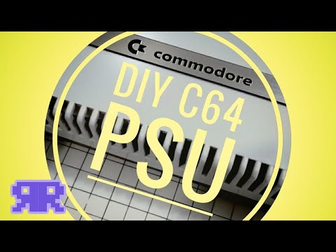 Commodore 64 DIY Cheap & Sexy Power Supply / PSU | see description