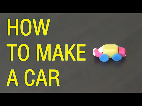 How to make a CAR? Modeling Fun Clay for Kids | GiGaGa TV