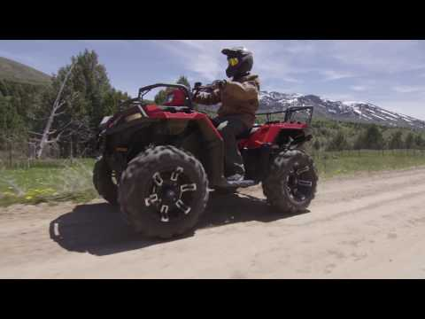 New 2017 Polaris Sportsman Xp 1000 High Lifter Edition Titanium Atv For Sale In