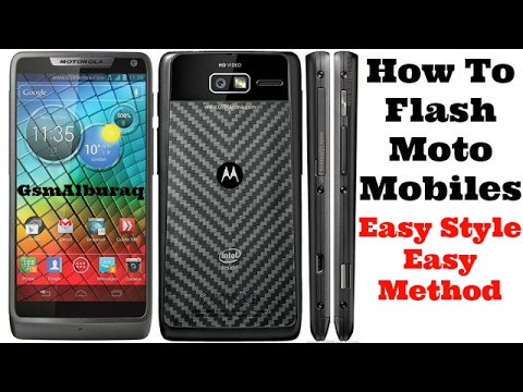 How to Flash Motorola XT907, Xt912,Xt926 All Moto Cell Phones