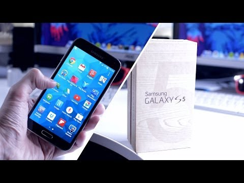 Samsung Galaxy S5 - Unboxing & Impressions!