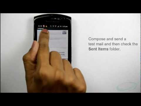 Set up Email on your Android Phone
