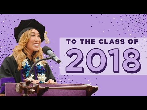5 things I wish I could tell my 22-year old self | Commencement Speech to the Class of 2018