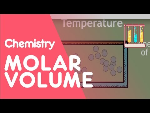 Molar Volume of Gas | The Chemistry Journey | The Fuse School