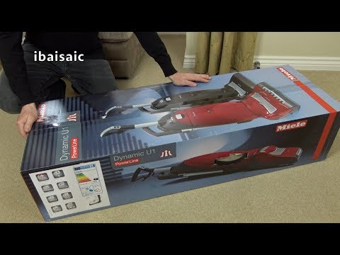 Miele Dynamic U1 Allergy Upright Vacuum Cleaner Unboxing & Review