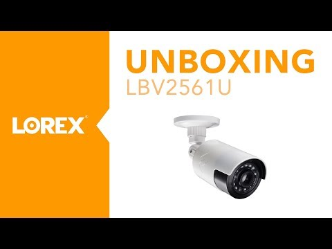 Unboxing the LBV2561U Ultra-Wide MPX Bullet Security Camera