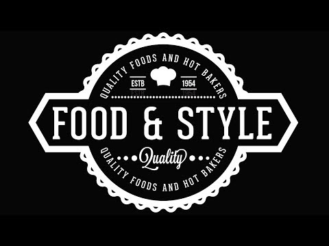 Creating a Food Label Design Using Free fonts - Coreldraw Tutorials