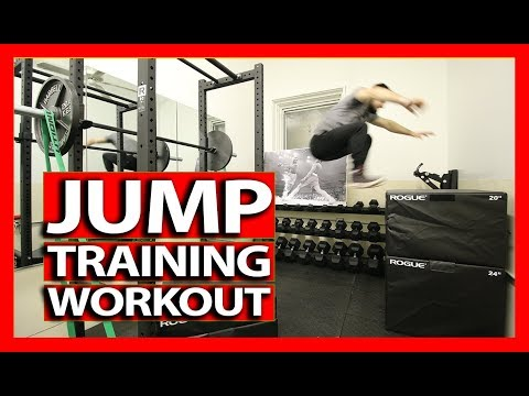 VERTICAL JUMP TRAINING WORKOUT (Exercise Explanations) How To Increase Your Vertical Jump - DAY 2