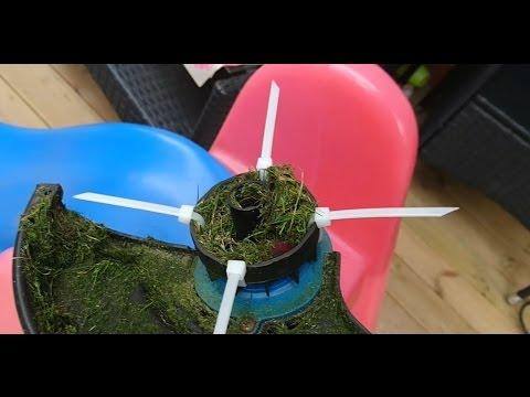 DIY Zip ties on a Weedwacker - ENGLISH SUBTITLES