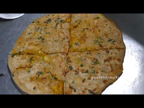 How to Make Dhaba Style Aloo Paratha street food