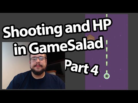 GameSalad Tutorial #04 - Shooting and HP