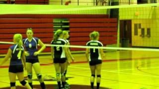 044.AVI Hannibal High School Volleyball 2010 Part 2