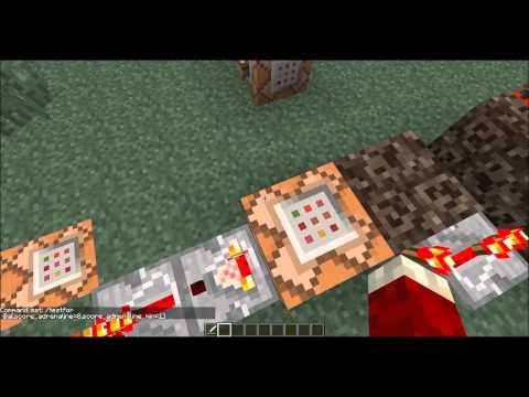 Adrenalin Rush In MineCraft Using Command Blocks