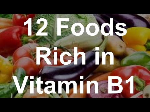 12 Foods Rich in Vitamin B1 - Foods With Vitamin B1