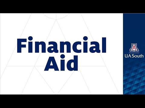 UA South New Student Orientation: FINANCIAL AID