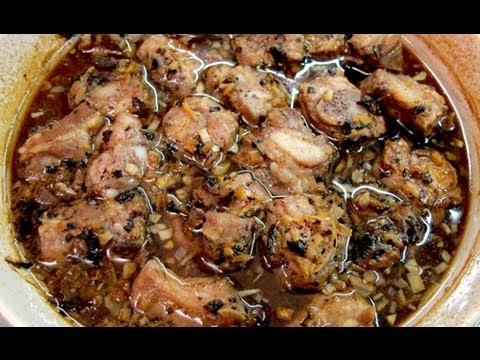 Steam Pork Ribs with Black Bean Sauce 豆豉蒸排骨