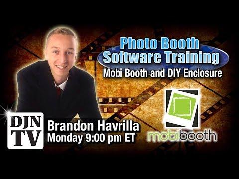 IPad Photo Booth Software Training | MobiBooth Cloud | DIY Enclosure with Brandon Havrilla | #DJNTV