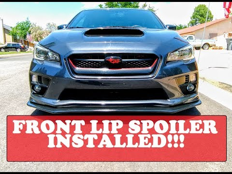 b7c90cadd1e Painting a front lip spoiler - 2013 Wrx Polyurethane Front Lip