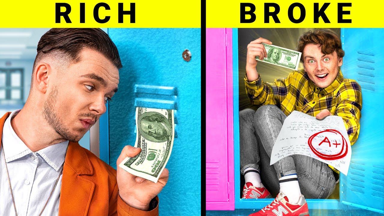 Rich Student vs Broke Student