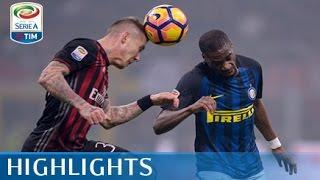 Milan - Inter - 2-2 - Highlights - Giornata 13 - Serie A TIM 2016/17