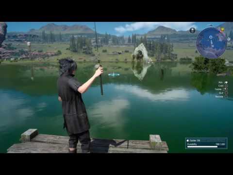 Crag Barramundi - Final Fantasy XV Fishing