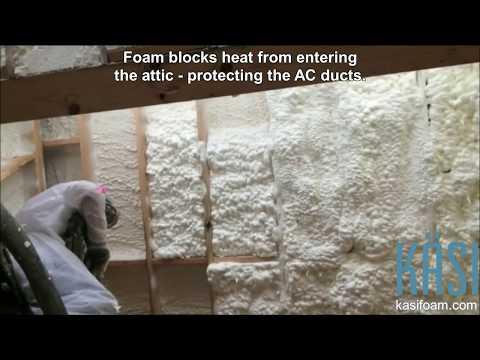Arizona Block & Stud Wall Insulation and Attic Insulation 90 second video