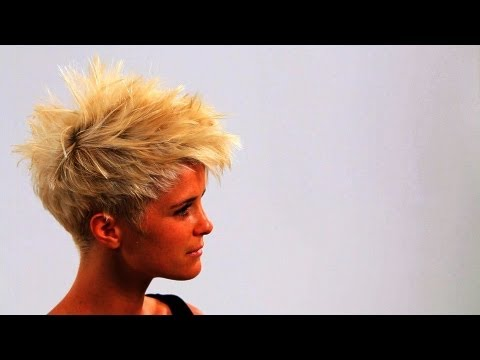 How to Style Short Punk Hair | Short Hairstyles