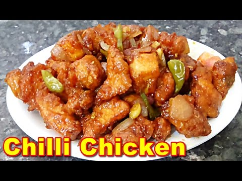 Chilli Chicken Recipe in Tamil - Easy method | சில்லி சிக்கன்