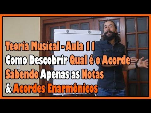 Curso de Teoria Musical - Aula 11: Como Saber o Acorde pelas Notas & Acordes Enarmônicos l Aula #88