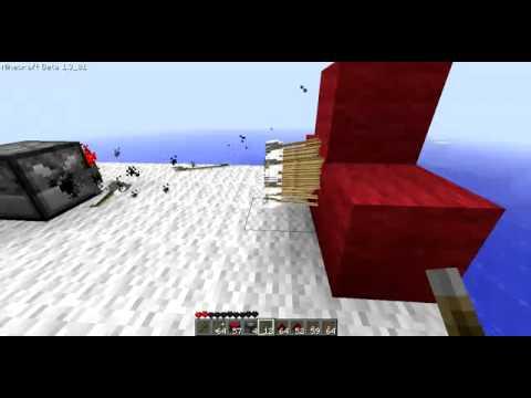 how to make a machine gun in minecraft[HD]