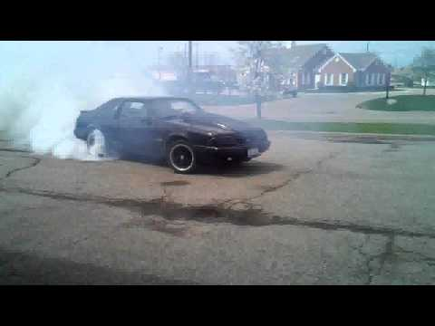 how to fix flat spots on your tires lol ( fox body burnout )