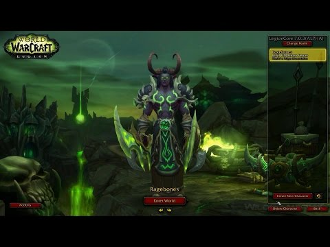 How to Set up Legioncore - First WoW Legion Repack - playithub com
